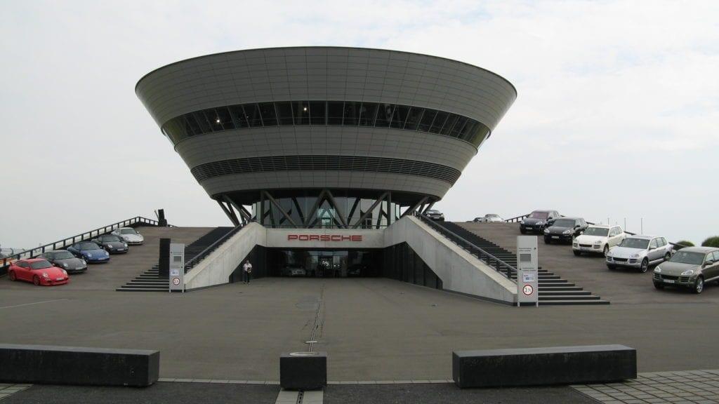 Kundenzentrum Porsche Leipzig