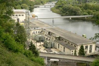 Turbinenhalle vom Pumpspeicherkraftwerk Waldeck I