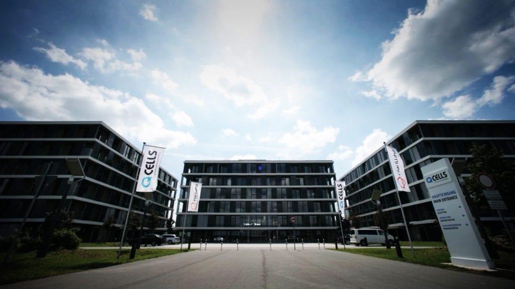 Bürogebäude von Q-Cells in Thalheim
